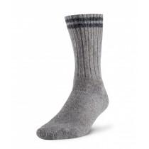 Robust Wool Work Sock - Grey / Blue ~ Size Medium