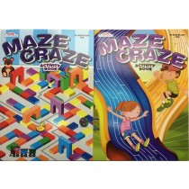 Maze Craze Kid's Activity Book