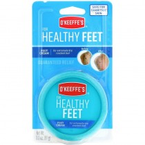 O'Keeffe's Healthy Feet - 3.4oz Jar Carded ~ 6 per clipstip