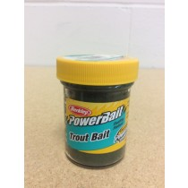 Berkley PowerBait Trout Bait ~ Green Pumpkin