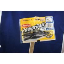 "Berkley PowerBait 3"" Black Power Minnow ~ 12 per pack"