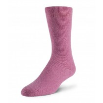 Boreal Wool Outdoor Thermal Sock - Light Pink ~ Size Medium