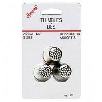 Metal Thimbles ~ 3 per pack