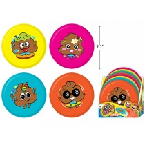 "Poo Doo Flying Disc ~ 9.5"""