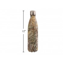 PURE Stainless Steel Water Bottle in Camo Pattern ~ 750ml