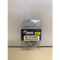 Compac No Roll {Tidal Flat} Sinkers ~ 4oz weight