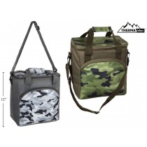 Insulated Camo Cooler Bag ~ 18L
