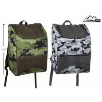 Insulated Camo Backpack Cooler Bag
