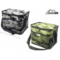 Insulated Camo Picnic Cooler Bag ~ 18 Cans