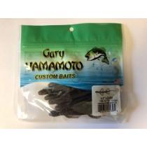 "Gary Yamamoto 4.5"" Baby Lizards ~ Cinnamon w/Black Flake"