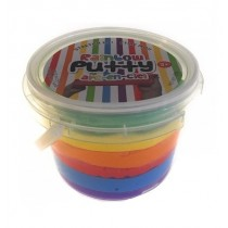 Rainbow Bouncing Putty in a Tub ~ Large Size 165gram