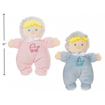 Baby Cuddly Buddy Doll - 9""