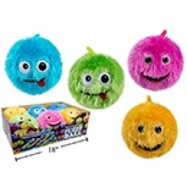 """6"""" Fuzzy Ball with Funny Face"""