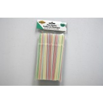 Flex Straws - Striped ~ 120 per pack