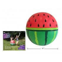 "Inflatable Jumbo Watermelon Sprinkler ~ 37.5"""