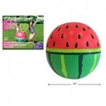 """37.5"""" Inflatable Jumbo Watermelon Water Sprinkler"""