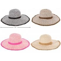 Ladies Straw Sun Hat