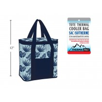 Insulated Cooler Bag - Fern Pattern ~ 18L