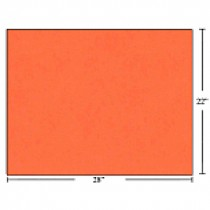 Bristol Board - Box of 50 Sheets ~ Fluorescent Red