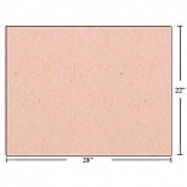 Bristol Board - Box of 50 Sheets ~ Pink