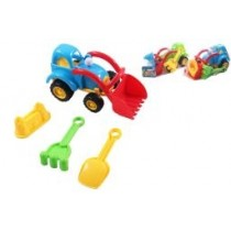 Beach Sand Tractor with Tools ~ 4 piece set