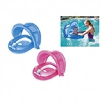 Inflatable Baby Seat with Detachable UV Sunshade