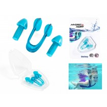 Hydro-Swim Nose Clip, Ear Plug Set with Case (14+)