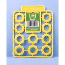 Garden Hose Washers {Plastic} ~ 12 per pack