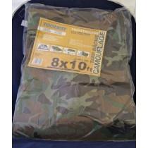 Camouflage Tarp ~  8' x 10'