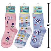 Kid's Easter Socks ~ Size 7-9