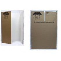 "Trifold Cardboard Project Display - 36"" x 48"" ~ Box of 24"