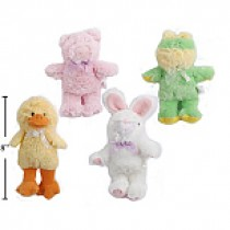 Easter Plush Animals - 6.5""