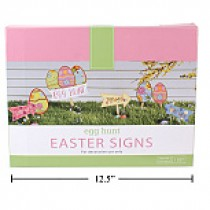 Easter Egg Hunt Sign Kit