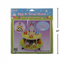 Easter 2-Tier Egg & Cupcake Stand