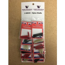 Nylon Shafts ~ 12 per card