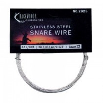 Stainless Steel Snare Wire ~ 21 gauge / 20'