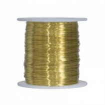 Brass Snare Wire ~ 22 gauge / 1lb spool