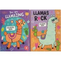 Llama Coloring Book