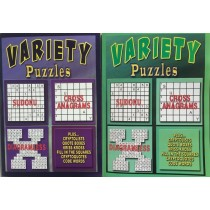 Variety Puzzle Book ~ 320 pages