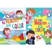Stay / Be Healthy Coloring Book