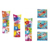 "Bright Print Inflatable Air Mattress / Lounger ~ 72"" x 27"""