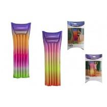"Rainbow Print Inflatable Air Mattress / Lounger ~ 72"" x 27"""