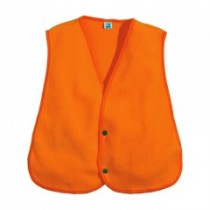 Fl. Orange Fleece Safety Vest