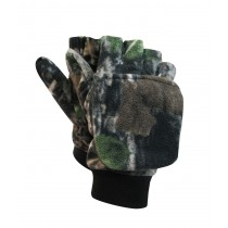 Camo Polar Fleece Glove - Mitt