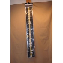 New Year's Bubbly Foil Banner ~ 12'L
