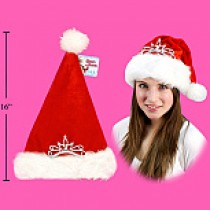 Christmas Hat with Tiara