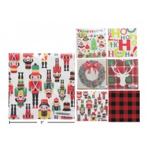 "Christmas Luncheon Napkins - 13"" x 13"", 2-ply ~ 16 per pack"