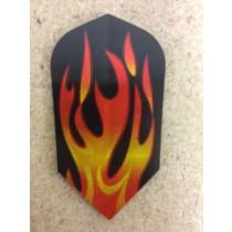 Dartworld Broken Glass ~ Slim Flames