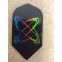 Dartworld Broken Glass ~ Sim Rainbow Orbits