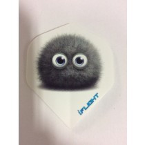 I-Flight Flights ~ Grey Furry Ball with Eyes